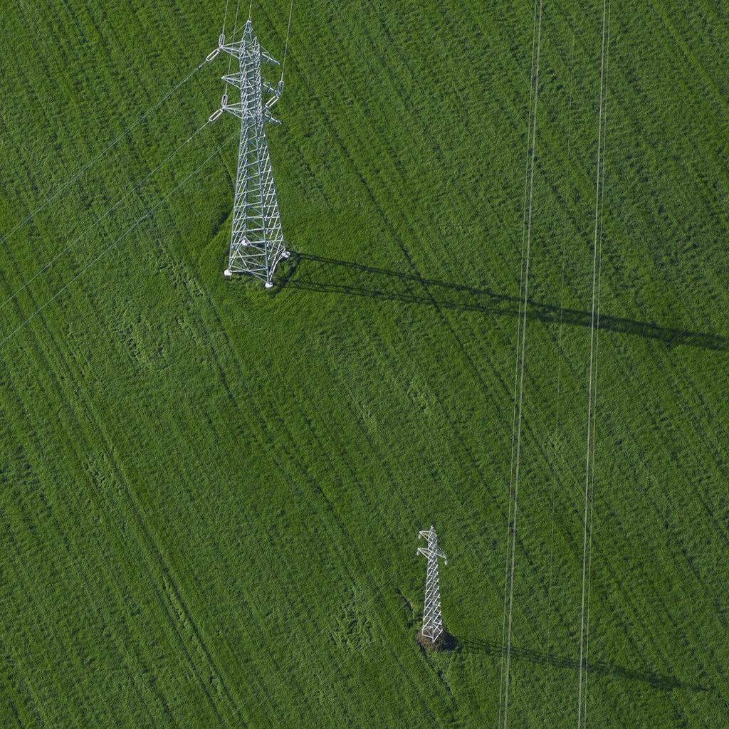 INSPECTING POWER LINES WITH AEROLASER AND THE A6D