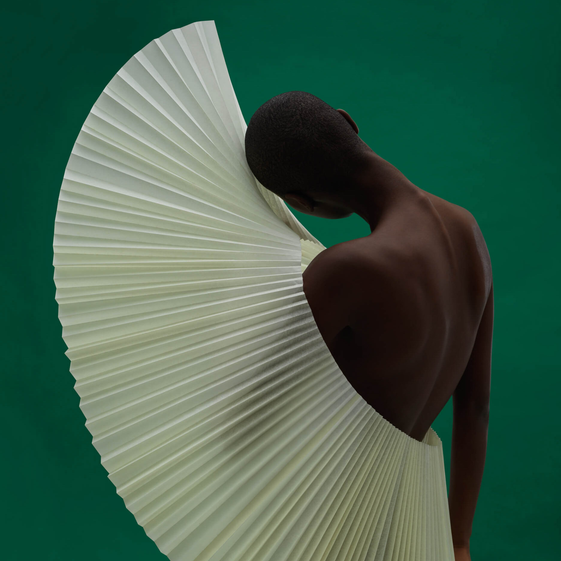 Gavin Goodman | Pleating Paper into Sculptural Headwear
