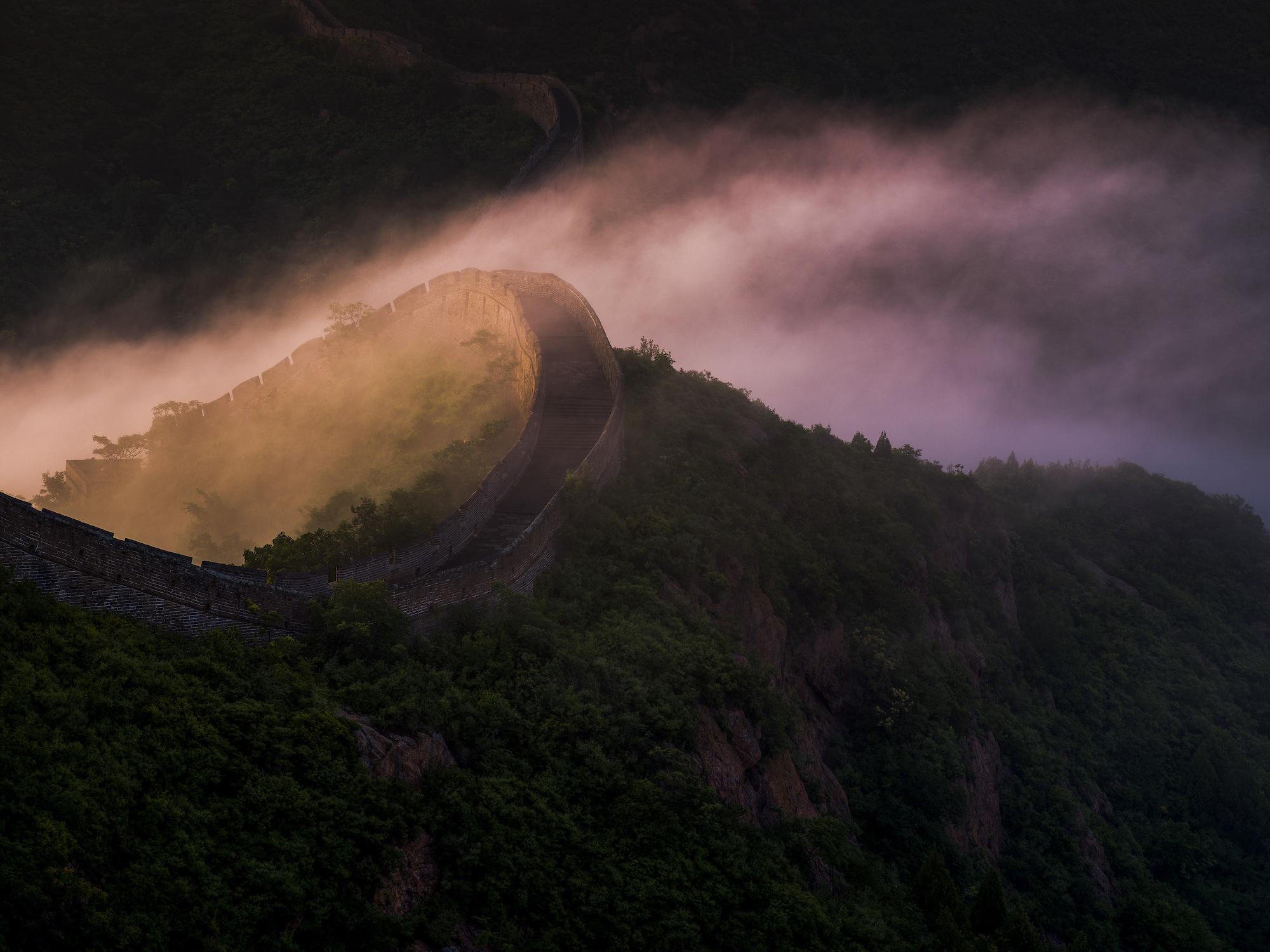 杨东 | 长城上,没有一刻风景不值得等待