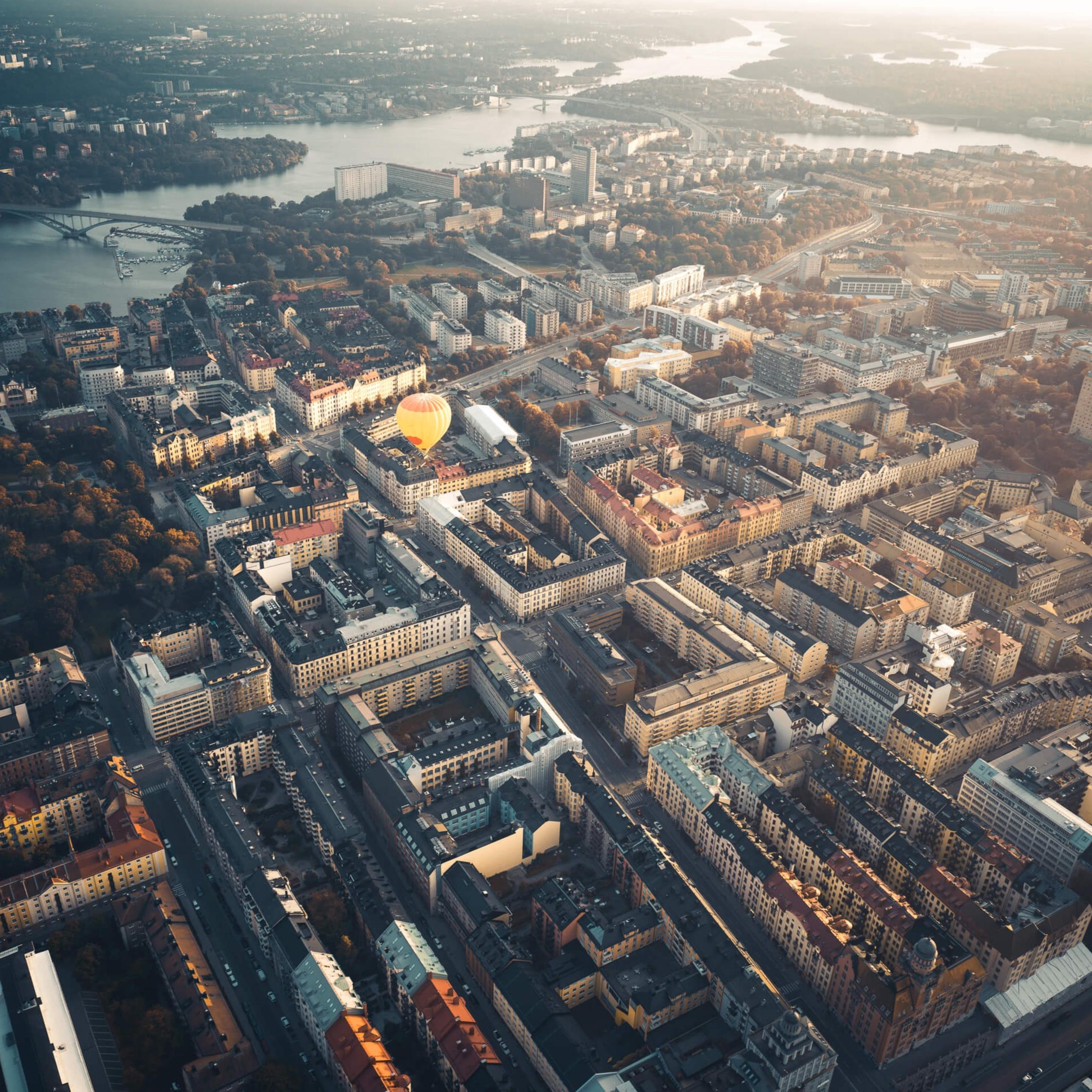 Tobias Hägg | Above Stockholm