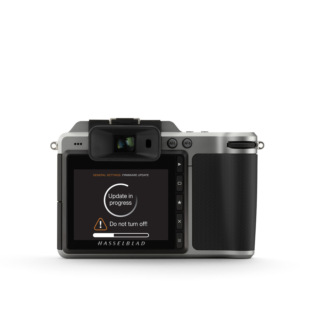 HASSELBLAD FIRMWARE UPDATE 1.22 FOR X1D-50C ADDS SUPPORT FOR NEW XCD LENSES