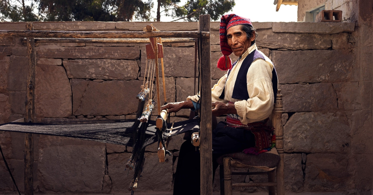 Roman Jehanno | Portraits of the Incredible Craftspeople of Peru