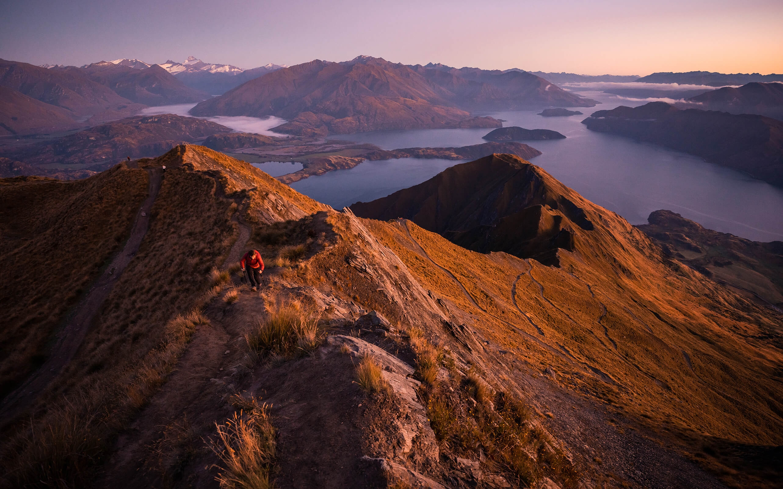 ADAM WEIST  穿越新西兰:从雨林到火山